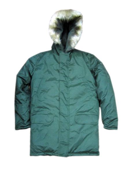 Куртка зимняя офисная МО (аляска) цв.оливковый (арт. 10812)