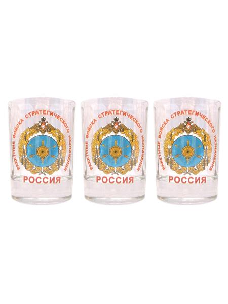 """Набор стопок (деколь) """"РВСН"""", 50гр., арт.М. (арт. 11153)"""