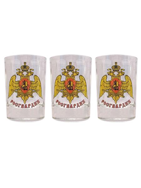 """Набор стопок (деколь) """"Росгвардия"""", 50гр., арт.М (арт. 11159)"""