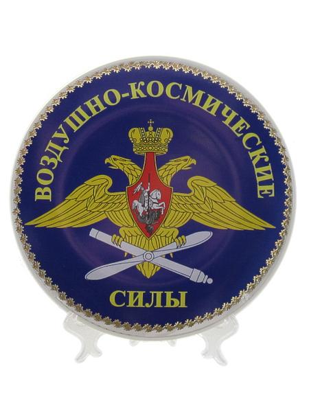 "Тарелка сувенирная диаметр 15см ""ВКС"", арт.М (арт. 11277)"