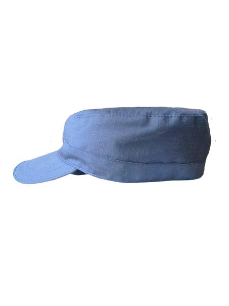 Кепи для офисной формы, цв.синий, тк.Рип-стоп (арт. 11641)