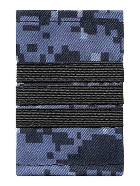 """Фальшпогоны Росгвардия ВОХР(расцв. """"точка""""), нашитый черный галун, сержант (арт. 11654)"""
