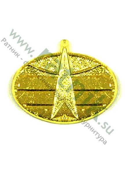 Эмблема петличная Космические войска (зол.) (арт. 3328)