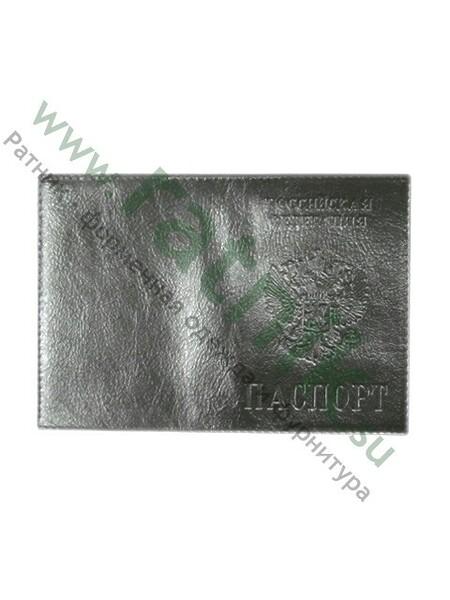 Обложка для паспорта, нат.кожа, тиснение (арт. 4090)