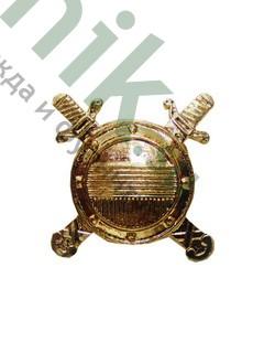 Эмблема петличная Внутренняя служба МВД РФ, (зол.) (арт. 4962)