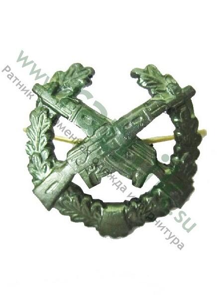 Эмблема петличная Мотострелковые войска (полев.) (арт. 5132)