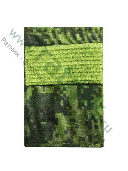 Фальшпогоны зел.кмф(цифра), вышитый галун, ст.сержант (арт. 7631)