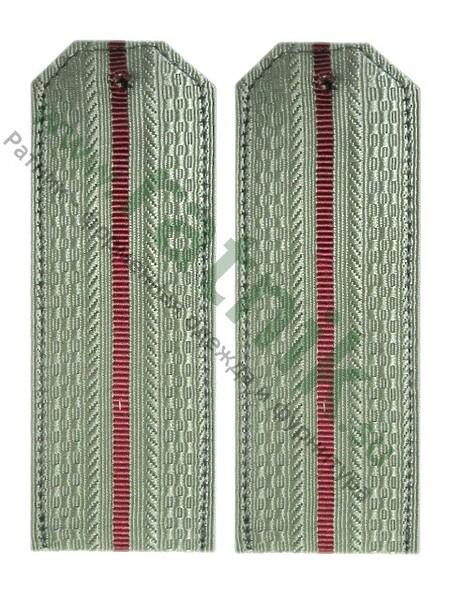 Погоны сетло-оливковые, 1 крап.просв.. (арт. 8381)