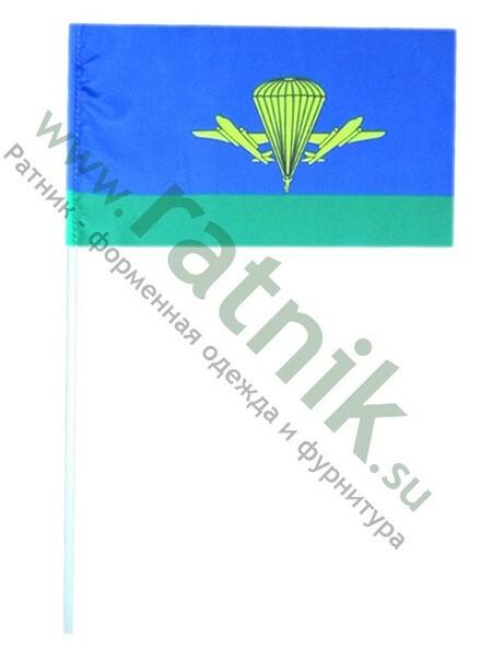 Флаг ВДВ России на штоке 11x17, арт.М (арт. 8761)