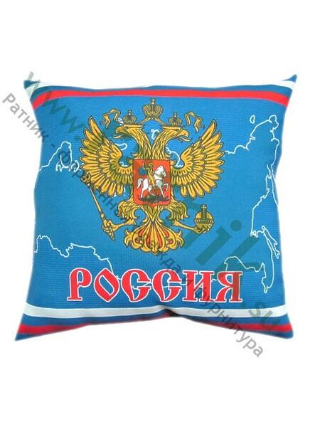 "Подушка сувенир.""Россия"" (33*33см). (арт. 8811)"