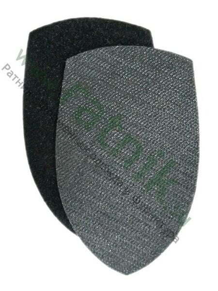 Контактная лента для шеврона Полиция (черная) (арт. 8824)