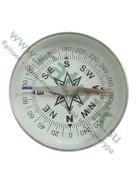 Компас круглый метал.d.75мм (арт. 9043)
