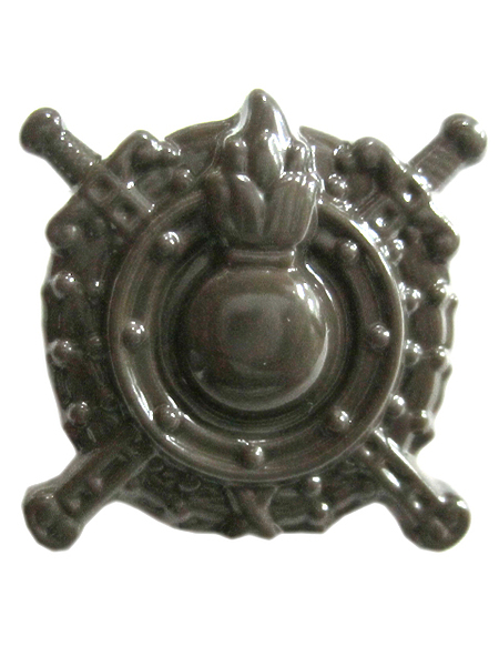 Эмблема петличная Внутренние войска МВД (полев.) ,п/а (арт. 9602)