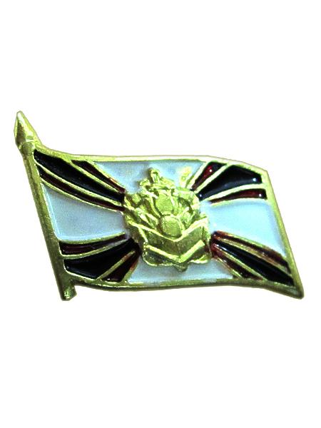 """Значок """"Инженерные войска"""" флаг на пимсе, (малый) (арт. 9625)"""