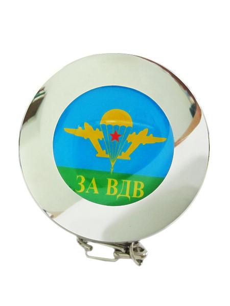 """Стаканчик складной металл,(смола) """"За ВДВ"""",арт.М (арт. 9972)"""